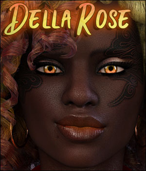 Della Rose for Genesis 8 Female 3D Figure Assets Ladyillin