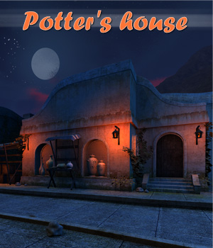 Potter's house 3D Models 1971s