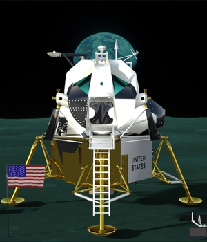 Eagle First Lunar Landing 3D Models didi30126