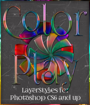 Color Play Photoshop Styles 2D Graphics antje