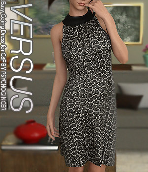 VERSUS - Easy Going Dress for G8F 3D Figure Assets Anagord