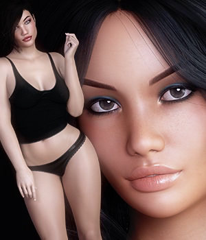 3DS Bella Heads & Bodies Genesis 8 Females 3D Figure Assets Merchant Resources 3DSublimeProductions