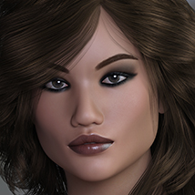 3DS Bella Heads & Bodies Genesis 8 Females image 1