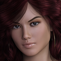 3DS Bella Heads & Bodies Genesis 8 Females image 3
