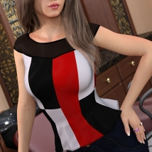 Personality for Trumpet Shirt for Genesis 8 Females image 3