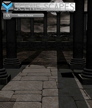 SceneScapes X5 - Paved In Stone 3D Models MortemVetus