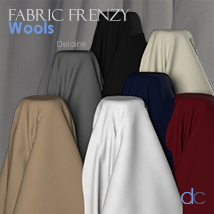 Fabric Frenzy: Wools PBR Textures and Poser Shaders image 4