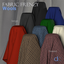 Fabric Frenzy: Wools PBR Textures and Poser Shaders image 6