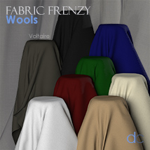 Fabric Frenzy: Wools PBR Textures and Poser Shaders image 7