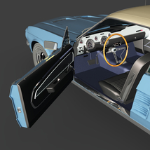 FORD MUSTANG 1967 GT - for VUE  image 4