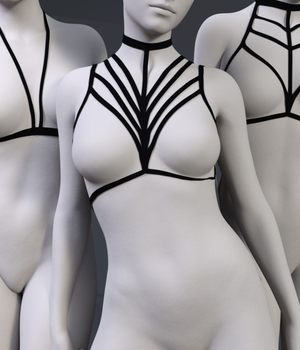 Harness Collection 1 for G8F 3D Figure Assets marilynjay