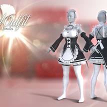 Maid Outfit for G8F image 3