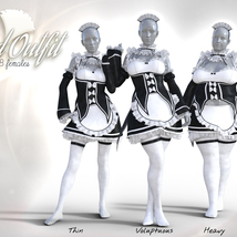 Maid Outfit for G8F image 5