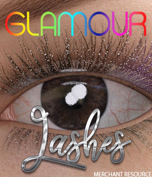 Glamour Lashes - Merchant Resource G8F 3D Figure Assets Merchant Resources 3DSublimeProductions