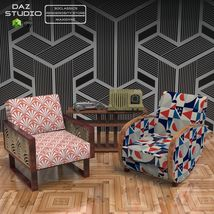 FAMOUS SEATS BUNDLE1 ( prop for POSER ) image 1