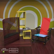 FAMOUS SEATS BUNDLE1 ( prop for POSER ) image 3