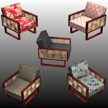 FAMOUS SEATS BUNDLE1 ( prop for POSER ) image 6