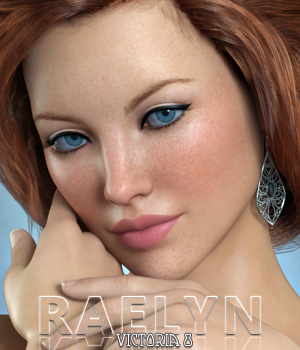 Raelyn For Victoria 8 3D Figure Assets Freja