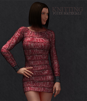 Knitting :: Poser Materials 2D Graphics Merchant Resources Cyrax3D
