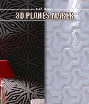 3D Planes maker. - IRAY shaders for DAZ - 3D Figure Assets Cyriona