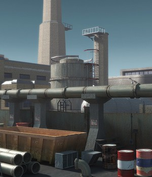 Industrial 2 - Extended License 3D Models 3D Game Models : OBJ : FBX Extended Licenses dexsoft-games