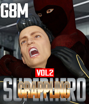 SuperHero Grappling for G8M Volume 2 3D Figure Assets GriffinFX