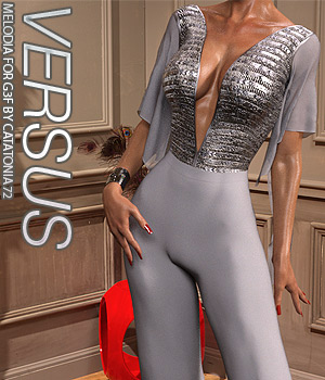 VERSUS - Melodia for Genesis 3 Females 3D Figure Assets Anagord