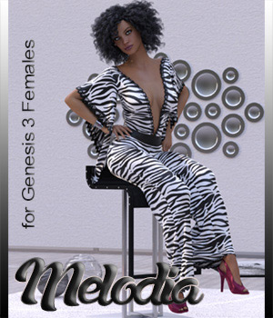 Melodia dforce Outfit for G3F Daz Studio 3D Figure Assets catatonia72