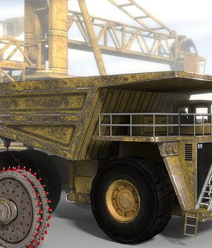 Industrial 10 - Extended License 3D Game Models : OBJ : FBX 3D Models Extended Licenses dexsoft-games
