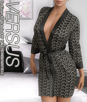VERSUS - BedGown for Victoria 8 3D Figure Assets Anagord