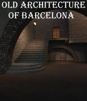 Old Architecture of Barcelona DAZ 3D Models JeffersonAF