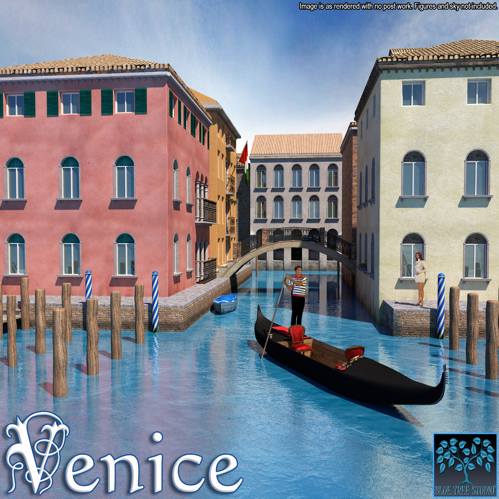 Venice for Poser by BlueTreeStudio
