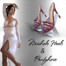Michele Heels and Pantyhose G8F image 2