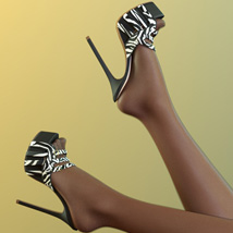 Michele Heels and Pantyhose G8F image 4