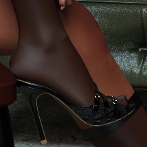 Michele Heels and Pantyhose G8F image 5