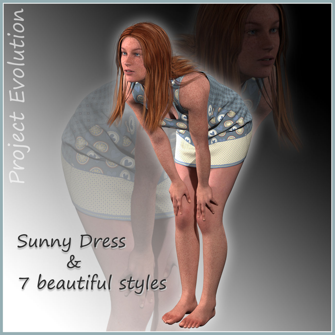 Sunny Dress and 7 Styles for Project Evolution - Poser