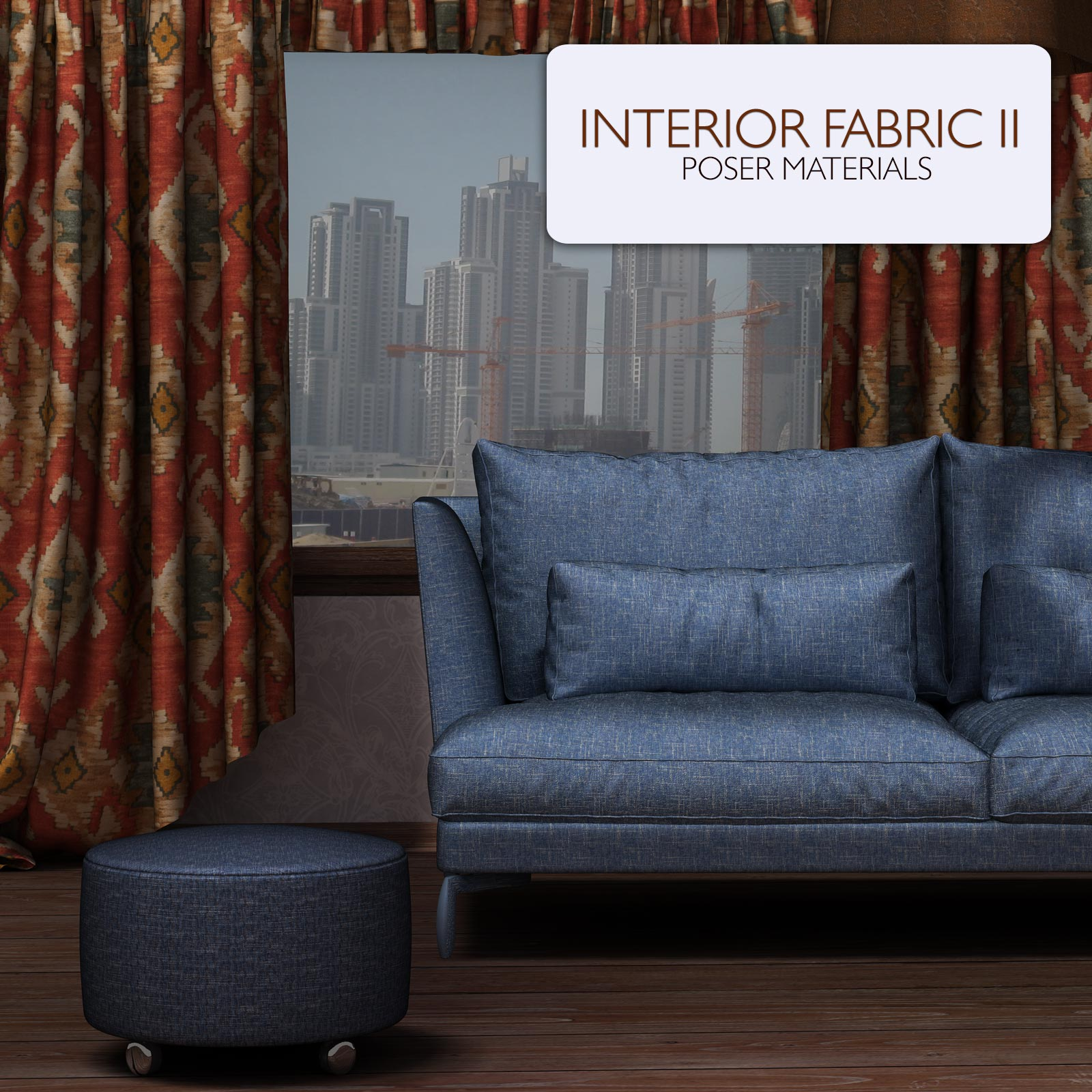 Interior Fabric II :: Poser Materials