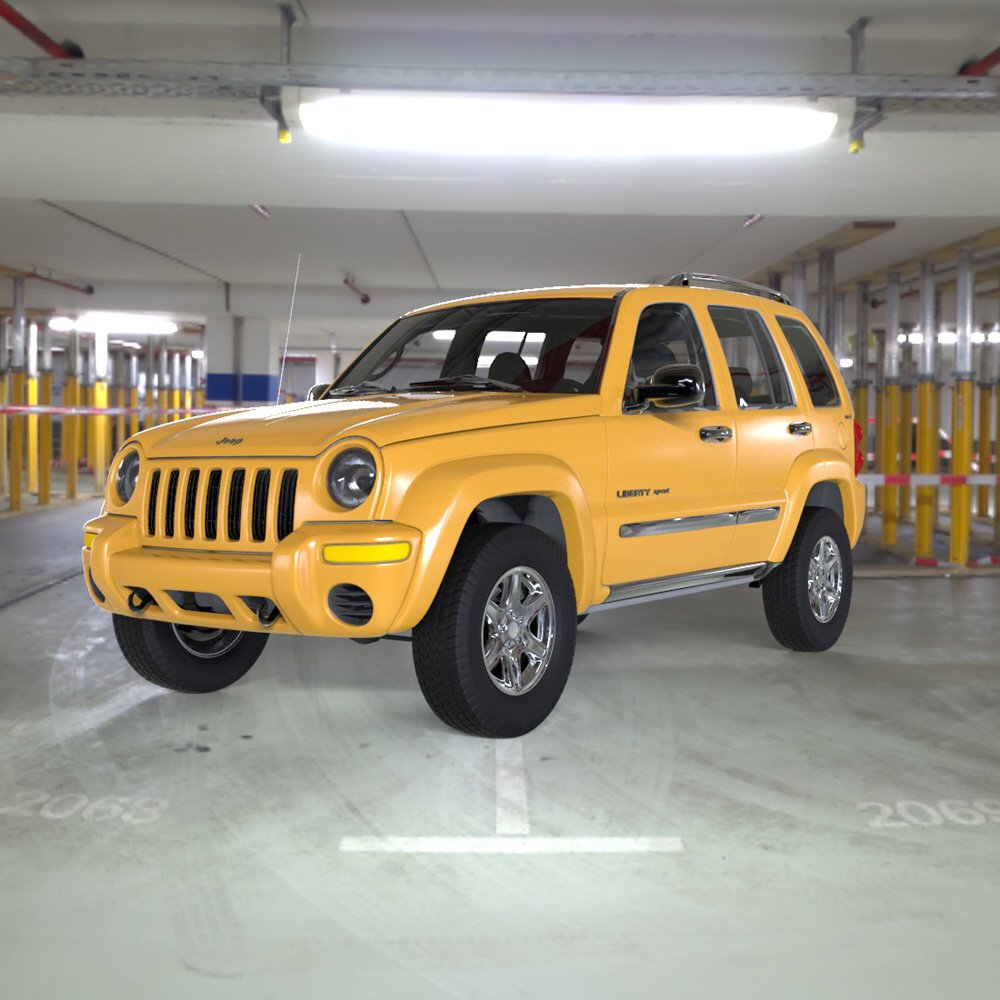 Liberty Jeeps: Extended License 3D Game