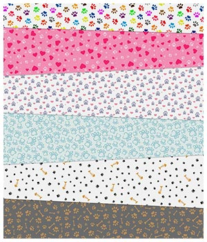 Paw Fabric Prints 2D Graphics Merchant Resources Medeina
