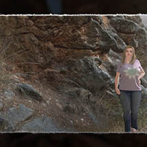 3D Cliff Construction set: Mediterranean Red Rocks image 2