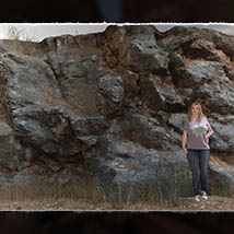 3D Cliff Construction set: Mediterranean Red Rocks image 5
