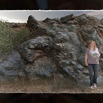 3D Cliff Construction set: Mediterranean Red Rocks image 6