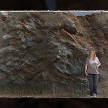 3D Cliff Construction set: Mediterranean Red Rocks image 7