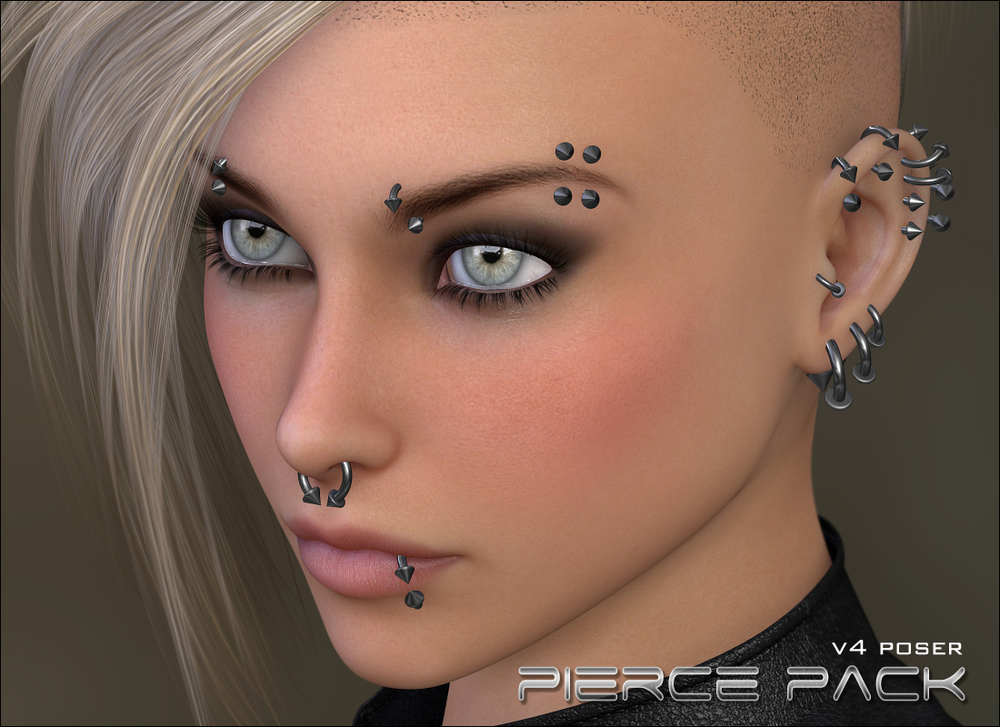 Piercings - Base Pack Poser