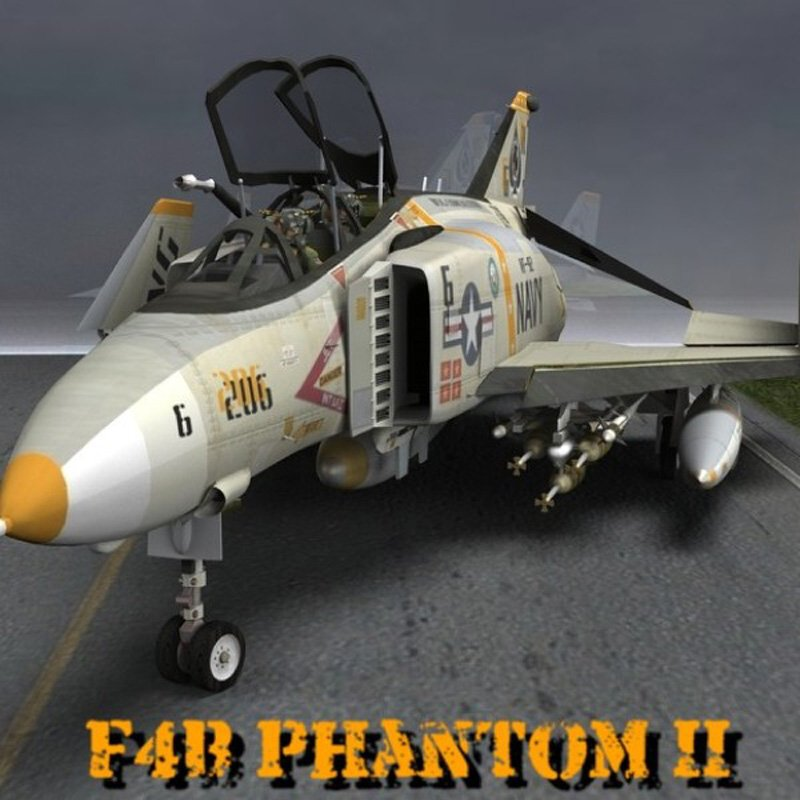 F4B Phantom for Poser