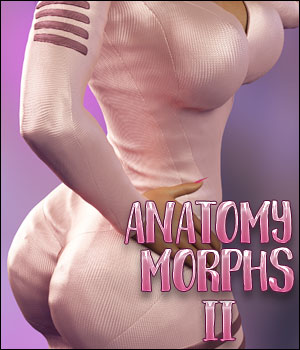 Li Anatomy Morphs II For Genesis 8 Female 3D Figure Assets Ladyillin