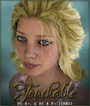 Touchable Jolie 3D Figure Assets -Wolfie-