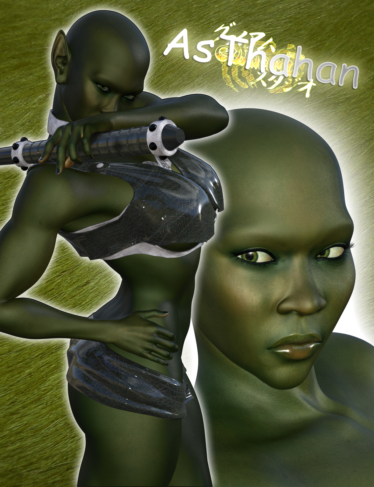 Asthahan for Genesis 3 Female by guaiamustudio