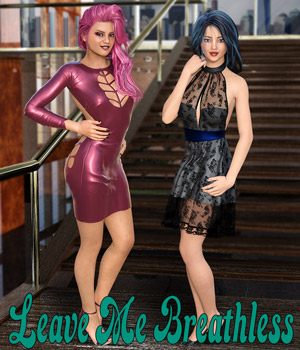 Leave Me Breathless Poses for G3F and G8F 3D Figure Assets Scavenger-Graphics