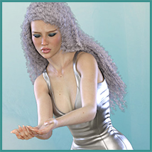 Z Possessed - Poses with Partials and Expressions for the Genesis 3 & 8 Females image 5